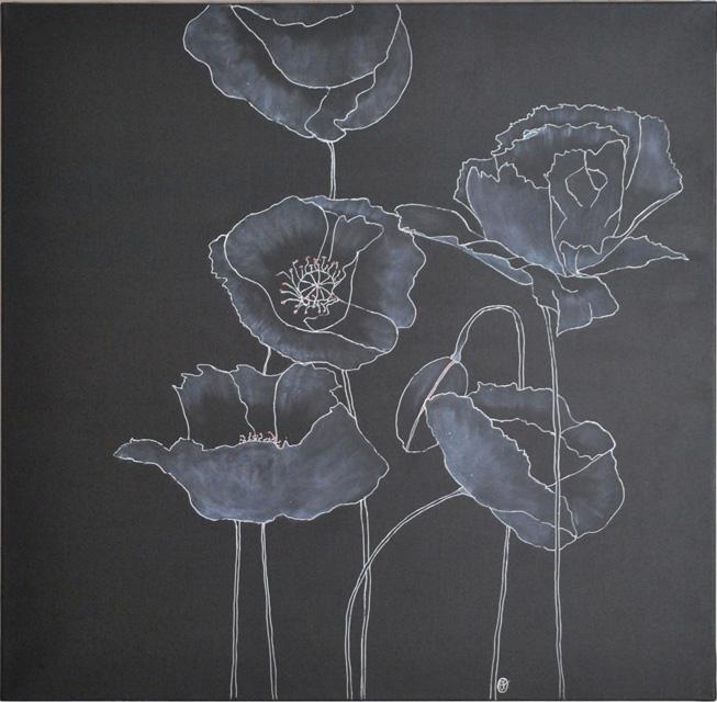 En fleurs noires